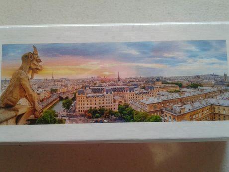 Puzzle Trefl mare (1000p) Panoramic asupra Parisului, de pe Notre-Dame