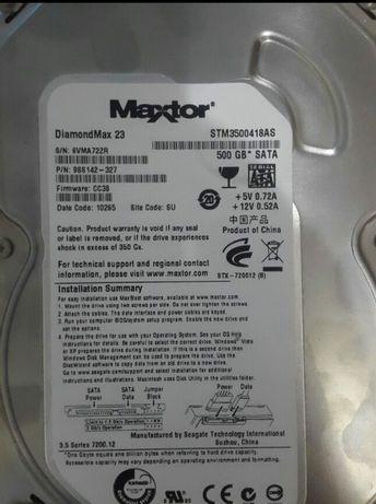 Жёсткий диск HDD MAXTOR 500GB