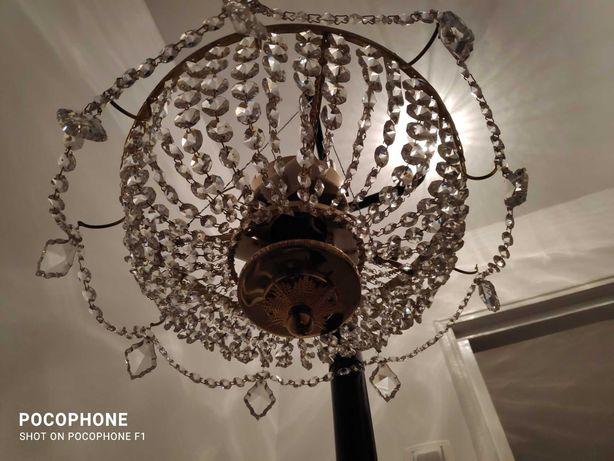 Vand lampadar cristale Bohemia