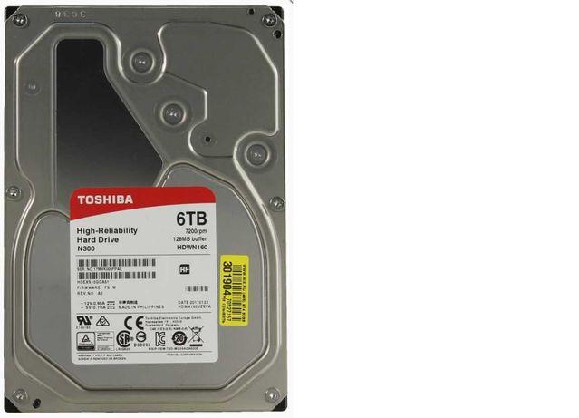 Жесткий диск HDD 6Tb TOSHIBA N300 SATA3 3,5