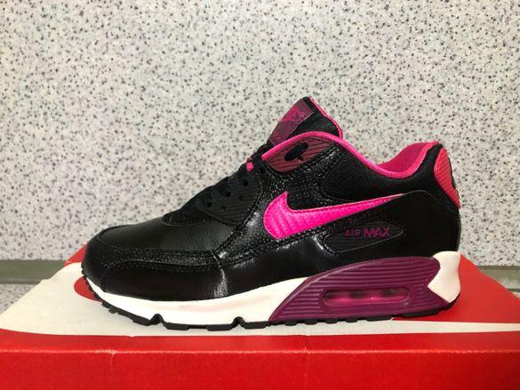 ОРИГИНАЛНИ *** Nike Air Max 90 2007 Leather / Black Pink