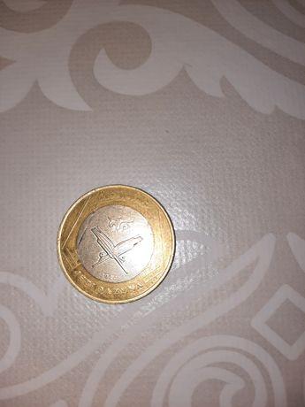 Продам коллекционную монету Jeti Qazyna