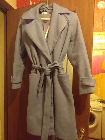 Женская пальто голубого цвета
