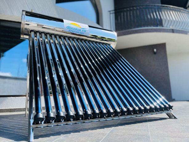 PANOU PRESURIZAT 200L Heat PIPE solar apa calda BOILER INOX Nou‼️