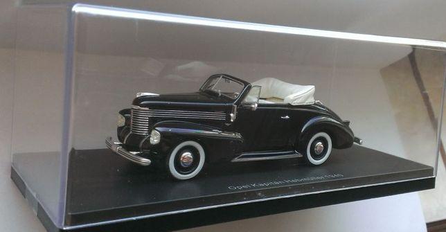 Macheta Opel Kapitan Hebmuller Cabriolet 1940 - NEO 1/43 noua