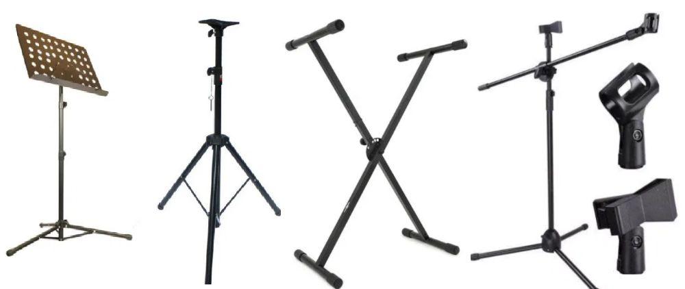 Trepied Stativ Boxe Microfon Partitura Orga Lumini Bucuresti - imagine 1