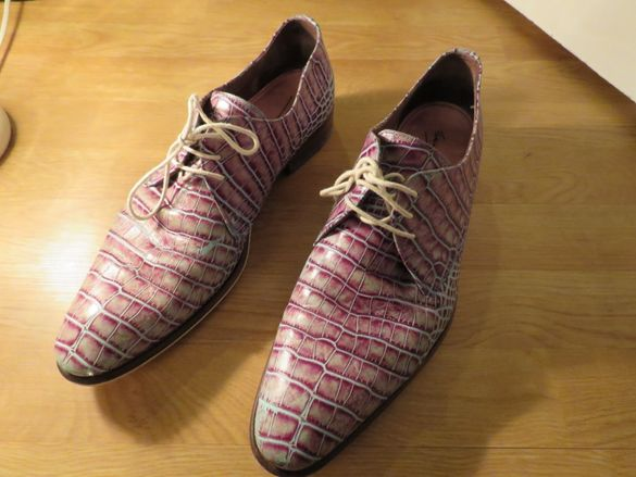 Мъжки обувки уникален модел на floris van bommel - Красота от цветове