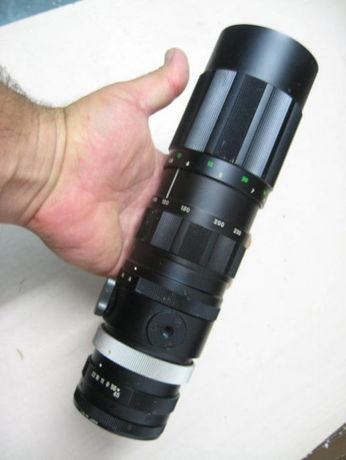 Телеобективи на 42мм резба MAGNON F=135mm SUPER CARENAR F=70-230mm