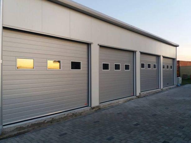 Uși de garaj izolate industriale 3550 x 3500 Preț Fabrică