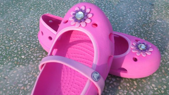 Детски пантофки,балеринки Crocs 12 С № 29-30