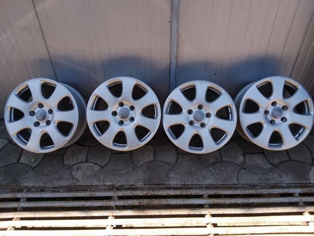 Set 4 Jante Aluminiu 5x130 R18 Originale Audi Q7