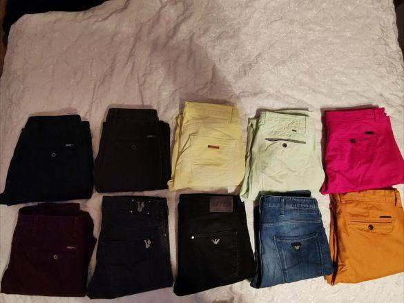Продавам Дизайнерски Дънки и Спортни Панталони Versace, Armani, Liu Jo
