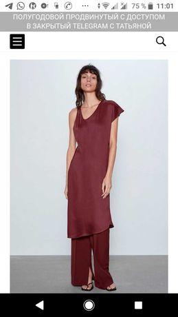 Продам платья  Zara черное,бордо