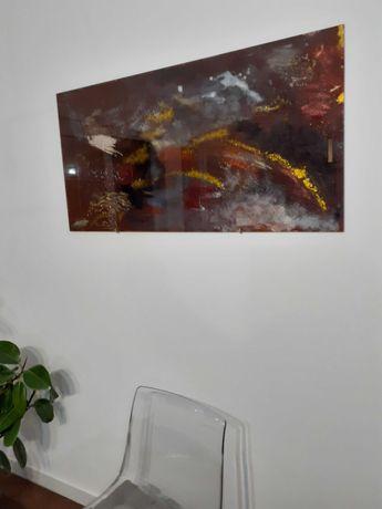Tablou pe sticla modern