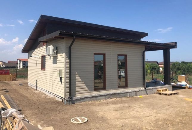 Vand/Fac Containere stil casa/birou/garaje modulare din panou sandwich