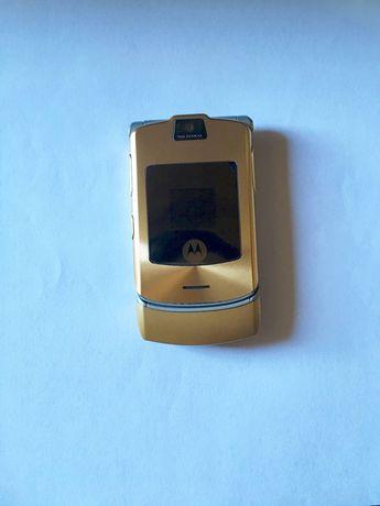 Motorola V3i Gold D&G
