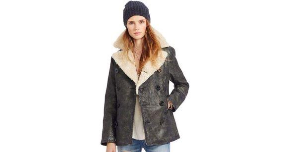 Оригинално дамско кожено яке RALPH LAUREN