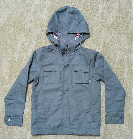 Куртка тонкая осенняя для мальчика 10-11 лет