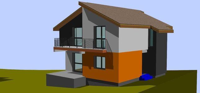 Casa Bod 140 mp utili 550 mp de teren toate utilitatile