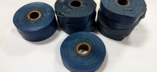 Изолента синяя  в рулонах