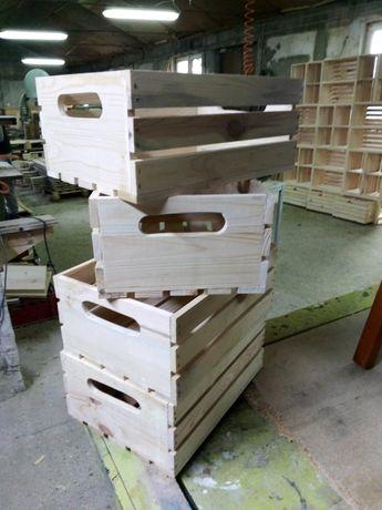 Дървени щайги за декорация и обзавеждане