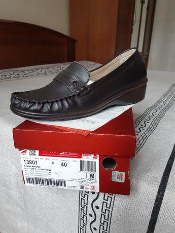 осенние туфли 40р новые