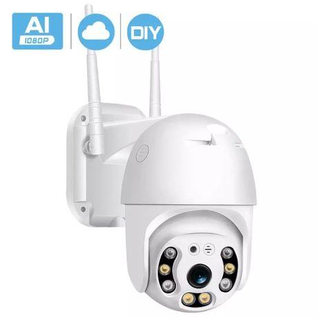 Camera supraveghere IP video FULL HD 1080p 360 exterior noapte audio