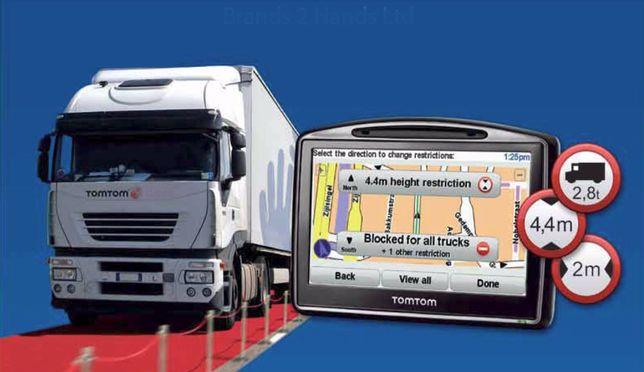 Tomtom Work atribute camion sau masini mici