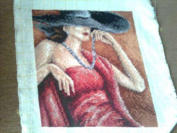 Гоблен Дамата с шапка