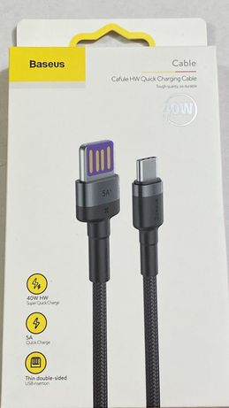 Cablu de date / incarcare rapida USB Type-C, 100cm
