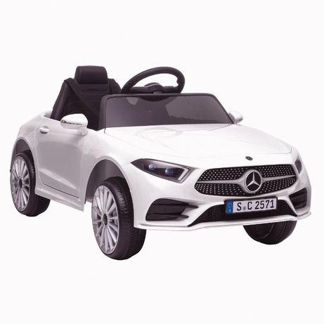 Masinuta electrica Kinderauto Mercedes CLS350 50W 12V PREMIUM #Alb