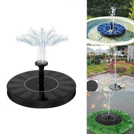 Соларен плаващ фонтан-работи на слънце