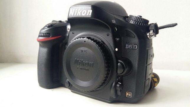 Продам полнокадровый фотоаппарат Nikon D610 body