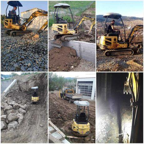 Mini-excavator Basculanta