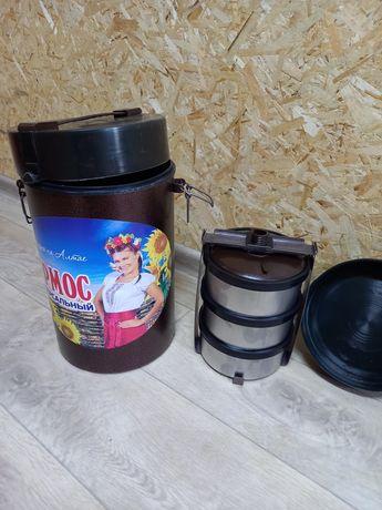 Термос пищевой металлические чашки