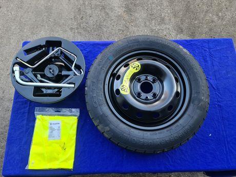 Резервна гума за Fiat 500 пълен комплект