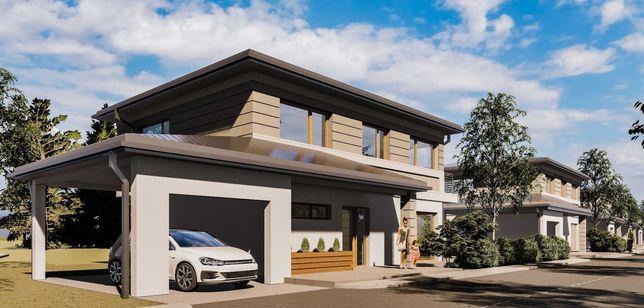 Casa individuala 120 mp+garaj-incalzit 25mp com Floresti Luna de Sus
