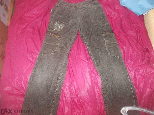 Топли плътни детско-юнош. джинсови панталони с подплата