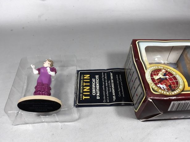 Tin Tin figurina de colecție original macheta