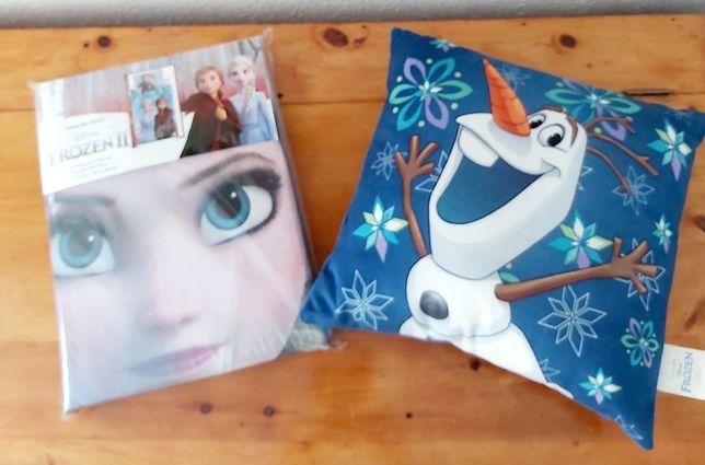 Set lenjerie Frozen +perna