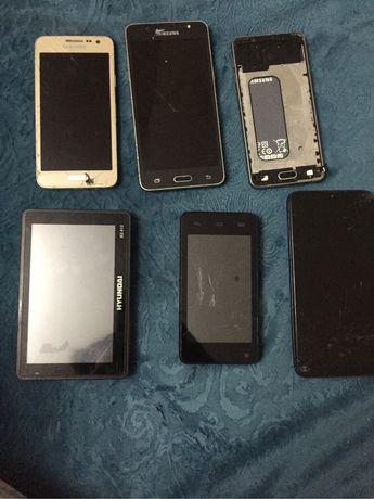 Продам телефоны смартфона samsung A3 A10 J5 J1 prestigiO MultiPhone