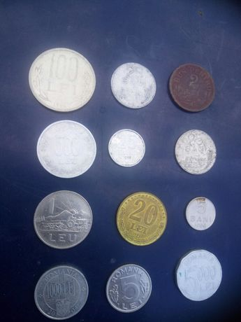 Vand monede romanesti si straine