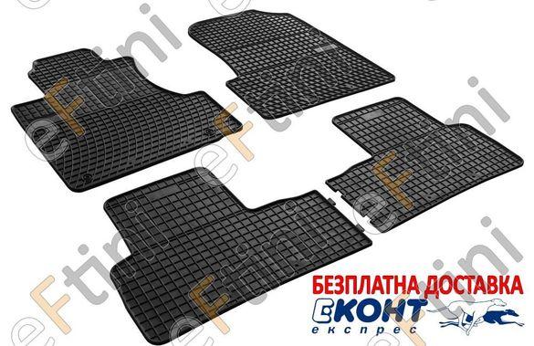 Автомобилни гумени стелки Frogum за Honda CRV III /ЦРВ 3 (2006 - 2012)