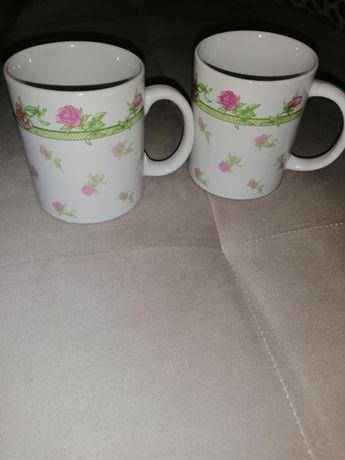 Чаши за чай/кафе с флорални мотив