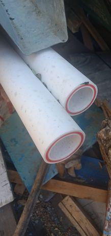 Продам трубы полипропиленовые на отопление 8 метров за метр 1800 новые