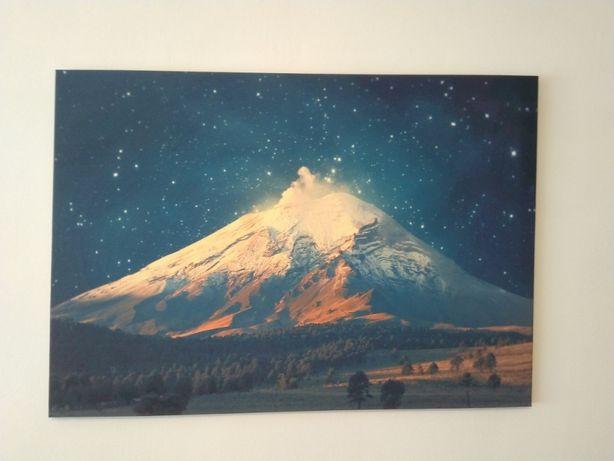 Tablou canvas 100 x 70 Muntele Fuji, pe panza cu cadru de lemn