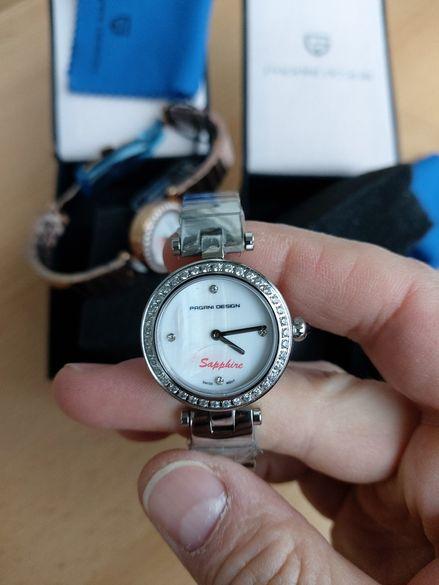 Нови луксозни дамски часовници pagani design, swiss made ronda
