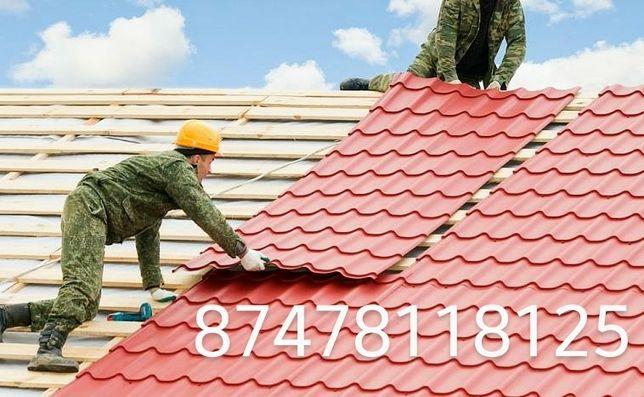 Установка и реставрация крыши, кровельные ремонт, быстро, недорого!