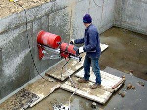 Алмазное сверление бурение отбойник препоратор бетон кирпич стяжка две