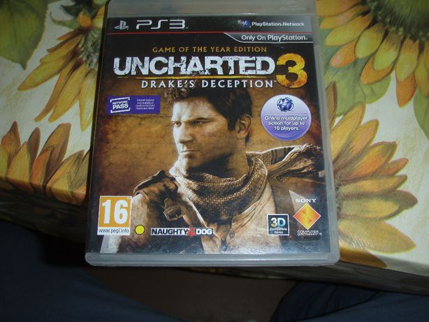 Uncharted 3 - Drake´s Deception PS3
